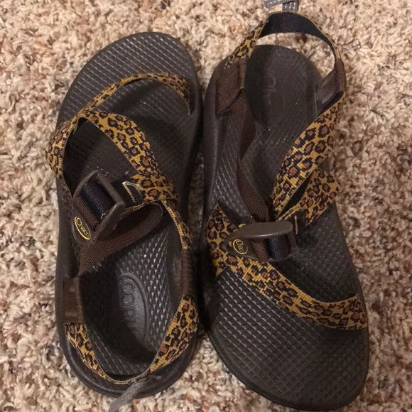 Chaco Shoes | Leopard Print Chacos